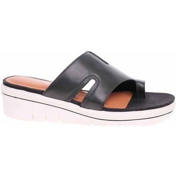 Cipők Női Papucsok Marco Tozzi Antic Fekete