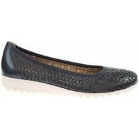 Cipők Női Balerina cipők  Caprice 992215524876 Fekete