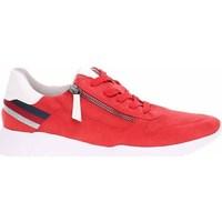 Cipők Női Rövid szárú edzőcipők Jana 882372826555 Piros