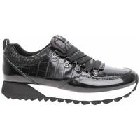 Cipők Női Rövid szárú edzőcipők S.Oliver 552362235056 Fekete
