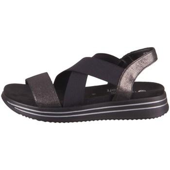 Cipők Női Szandálok / Saruk Remonte Dorndorf R295402 Fekete