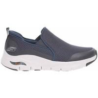 Cipők Férfi Belebújós cipők Skechers Arch Fit Banlin Szürke
