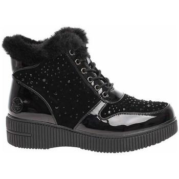 Cipők Női Hótaposók Rieker 9331200 Fekete