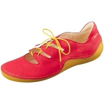 Cipők Női Rövid szárú edzőcipők Think Kapsl Fire Piros