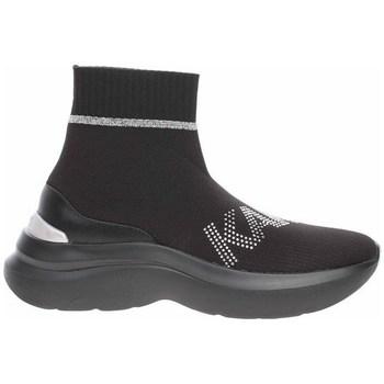 Cipők Női Magas szárú edzőcipők Karl Lagerfeld KL61855 Fekete