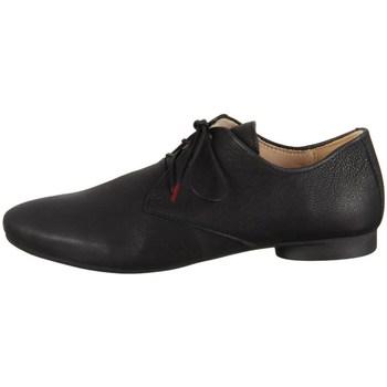 Cipők Női Rövid szárú edzőcipők Think Guad Texano Calf Veg Fekete