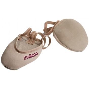 Cipők Női Fedett pályás sport Dvillena PUNTERAS GIMNASIA RITMICA ELEGANTE Bézs