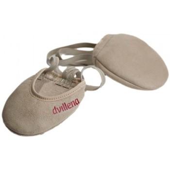 Cipők Női Fedett pályás sport Dvillena PUNTERAS GIMNASIA RITMICA GUANTE Bézs