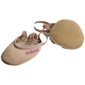 Cipők Női Fedett pályás sport Dvillena PUNTERAS GIMNASIA RITMICA RITMILOVE Bézs