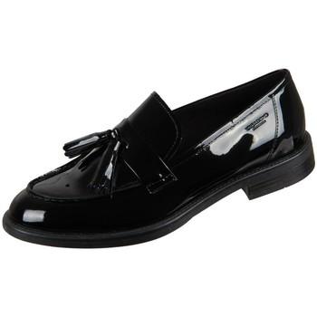 Cipők Női Mokkaszínek Vagabond Shoemakers Amina Black Lack Fekete