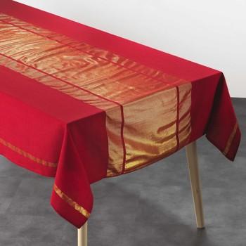 Otthon Asztalterítő Douceur d intérieur ELEGANCIA Piros / Et / Arany