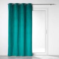 Otthon Függönyök és árnyékolók Douceur d intérieur VELOUNIGHT Smaragd