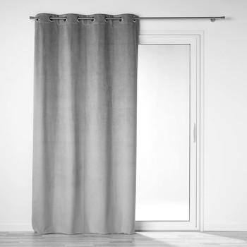 Otthon Függönyök és árnyékolók Douceur d intérieur VELOUNIGHT Szürke