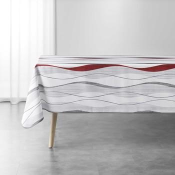 Otthon Asztalterítő Douceur d intérieur ONDULYS Fehér / Et / Piros