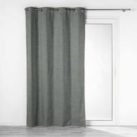 Otthon Függönyök és árnyékolók Douceur d intérieur CREPUSCULE Szürke / Antracit