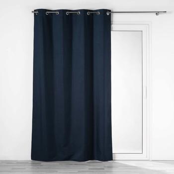 Otthon Függönyök és árnyékolók Douceur d intérieur CREPUSCULE Kék