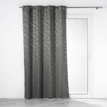Otthon Függönyök és árnyékolók Douceur d intérieur LUNELLA Szürke / Antracit
