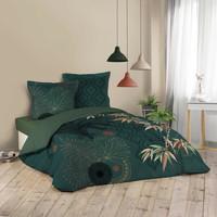 Otthon Ágyneműhuzat Douceur d intérieur JAPONI Smaragd