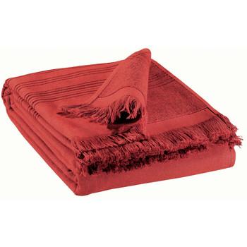 Otthon Törölköző és tisztálkodó kesztyű Vivaraise CANCUN Piros