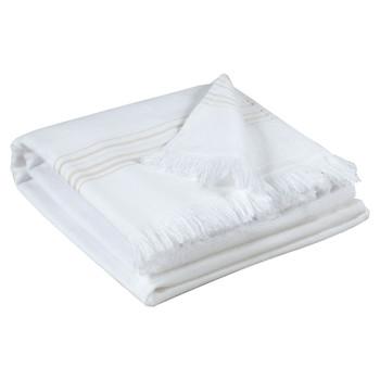 Otthon Törölköző és tisztálkodó kesztyű Vivaraise CANCUN Fehér