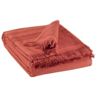 Otthon Törölköző és tisztálkodó kesztyű Vivaraise CANCUN Tégla színű
