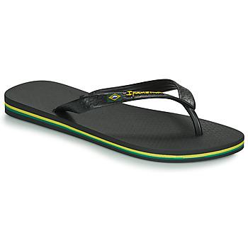 Cipők Férfi Lábujjközös papucsok Ipanema CLASSICA BRASIL II Fekete