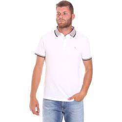 Ruhák Férfi Rövid ujjú galléros pólók Trussardi 52T00491-1T003600 Fehér