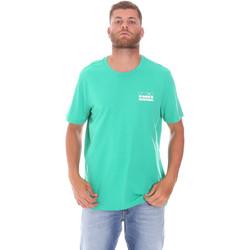 Ruhák Férfi Rövid ujjú pólók Diadora 502175837 Zöld