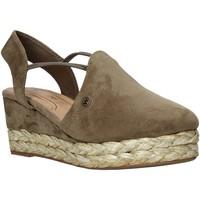 Cipők Női Gyékény talpú cipők Wrangler WL01511A Zöld