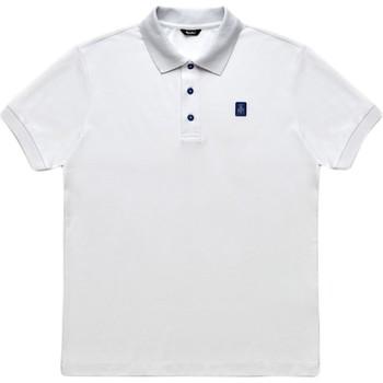 Ruhák Férfi Rövid ujjú galléros pólók Refrigiwear RM0T19001PX9032 Fehér