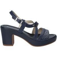 Cipők Női Szandálok / Saruk Valleverde 32501 Kék