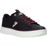 Cipők Női Rövid szárú edzőcipők Ellesse EL11W80470 Fekete