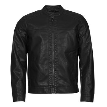 Ruhák Férfi Bőrkabátok / műbőr kabátok Only & Sons  ONSMIKE Fekete