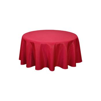 Otthon Asztalterítő Habitable NORWICH - ROUGE - DIAM 180 CM Piros