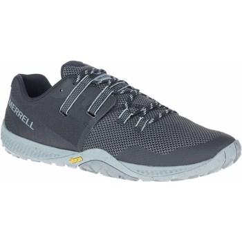 Cipők Férfi Futócipők Merrell Trail Glove 6 Szürke