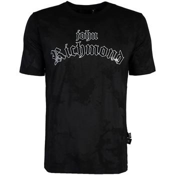 Ruhák Férfi Rövid ujjú pólók John Richmond  Fekete