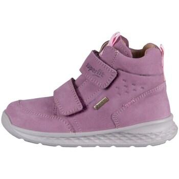 Cipők Gyerek Magas szárú edzőcipők Superfit Breeze Rózsaszín