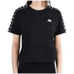 Ruhák Női Rövid ujjú pólók Kappa Inula Tshirt Fekete