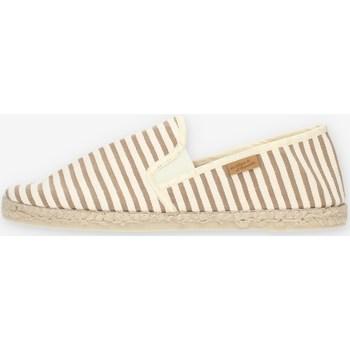 Cipők Férfi Gyékény talpú cipők La Maison De L'espadrille 101VE4543 Beige