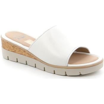 Cipők Női Papucsok Grunland CI2897 Fehér