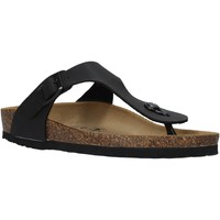 Cipők Férfi Lábujjközös papucsok Valleverde G59930 Fekete