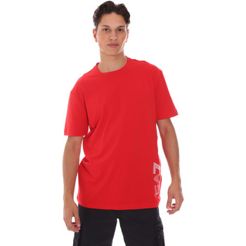 Ruhák Férfi Rövid ujjú pólók Ea7 Emporio Armani 3KPT23 PJ9TZ Piros