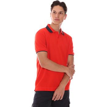 Ruhák Férfi Rövid ujjú galléros pólók Invicta 4452240/U Piros