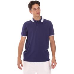 Ruhák Férfi Rövid ujjú galléros pólók Invicta 4452240/U Kék