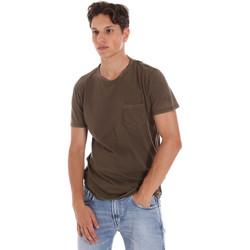 Ruhák Férfi Rövid ujjú pólók Replay M3185 .000.22326 Zöld