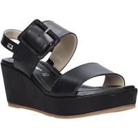 Cipők Női Szandálok / Saruk Valleverde 32213 Fekete