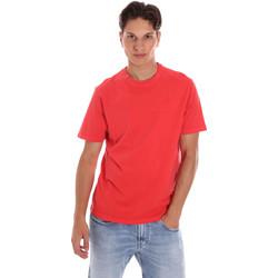 Ruhák Férfi Rövid ujjú pólók Ciesse Piumini 215CPMT01455 C2410X Piros