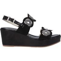 Cipők Női Szandálok / Saruk Valleverde 32214 Fekete