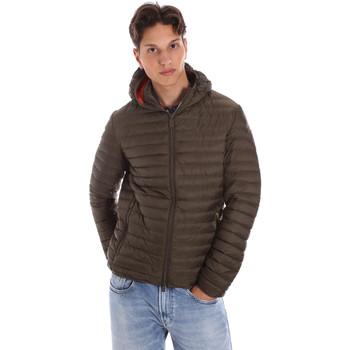 Ruhák Férfi Steppelt kabátok Ciesse Piumini 195CFMJ00126 N021D0 Zöld