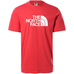 Ruhák Férfi Rövid ujjú pólók The North Face NF0A2TX3V341 Piros